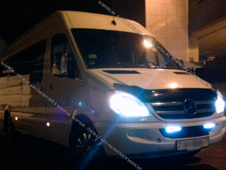 Аренда Mercedes Sprinter VIP LUX с водителем в Минске
