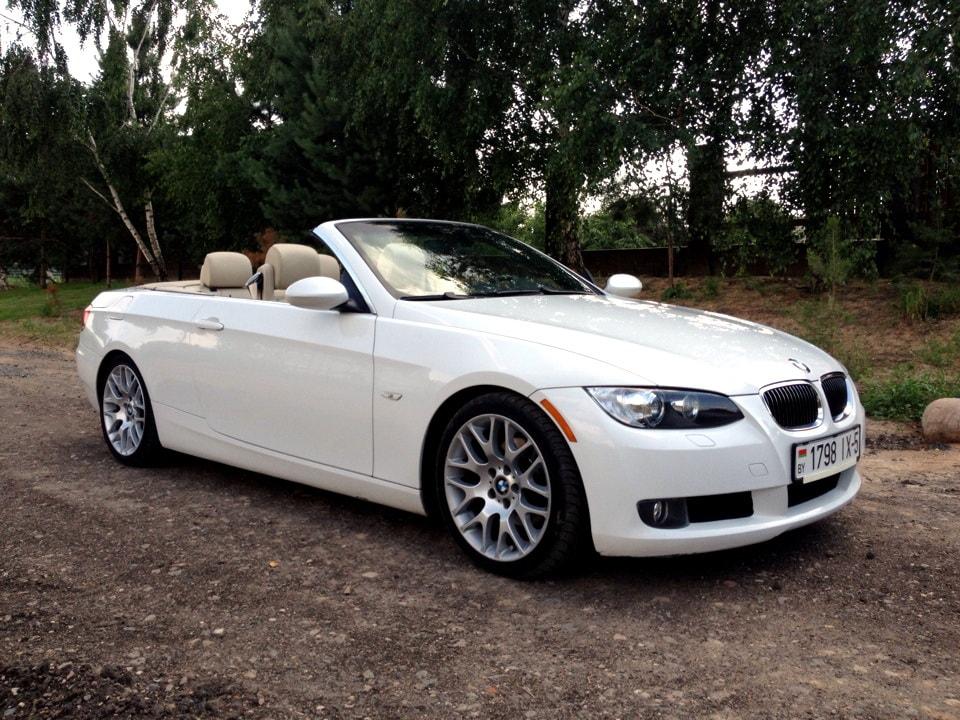 Кабриолет BMW E93 White